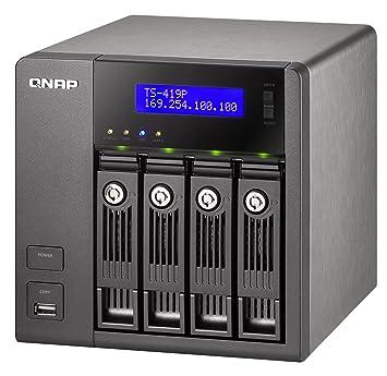 QNAP TS-419P TurboNAS Vista