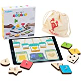 Marbotic - Smart Shapes for iPad - Ages 3+ - Interactive Wooden Shapes & Colors - Hands-on Educational Multiplayer Games for