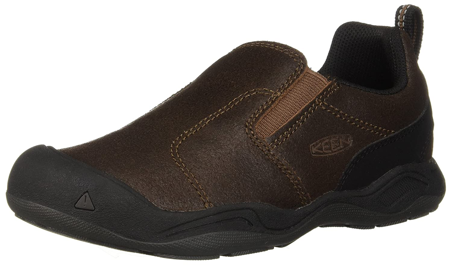 KEEN Jasper Slip-on Hiking Shoe B077BF7YSQ 1 M US|Dark Earth/Mulch