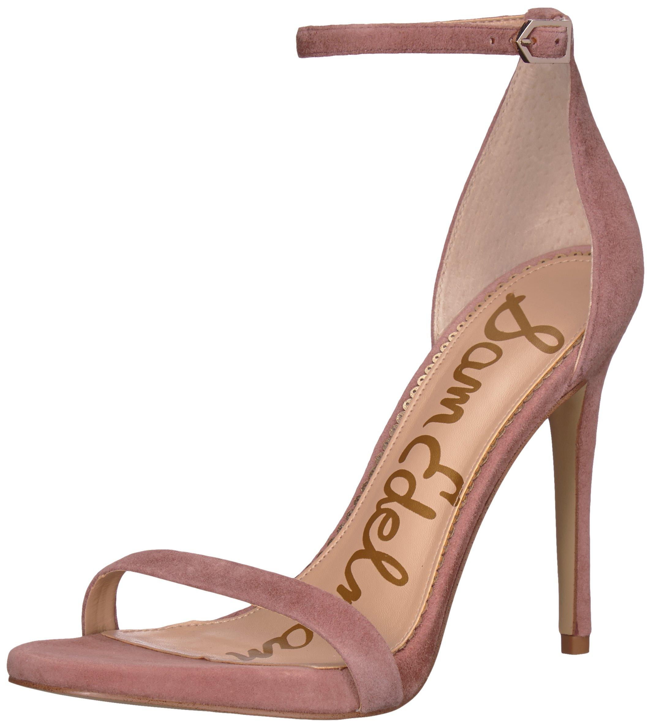 Sam Edelman Women's Ariella Heeled Sandal, Dusty Rose, 7.5 M US