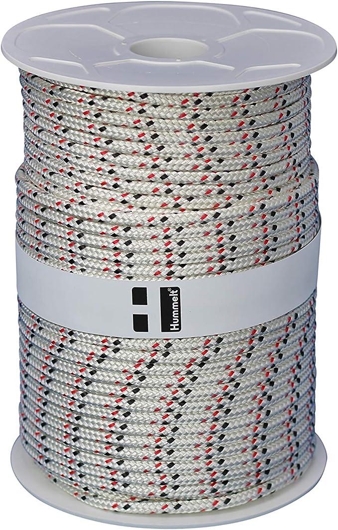 8mm 40m wei/ß auf Rolle H Hummelt/® SilverLine-Rope Baumwollseil Baumwollkordel