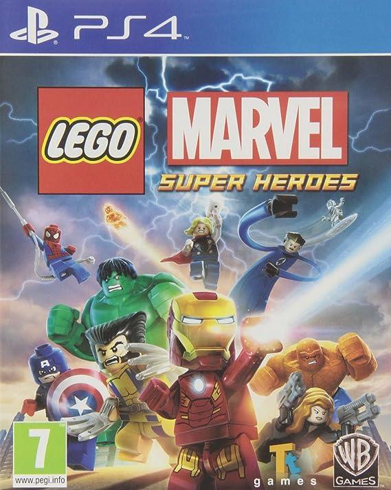 LEGO Marvel Super Heroes - Edición Estándar: Amazon.es: Videojuegos