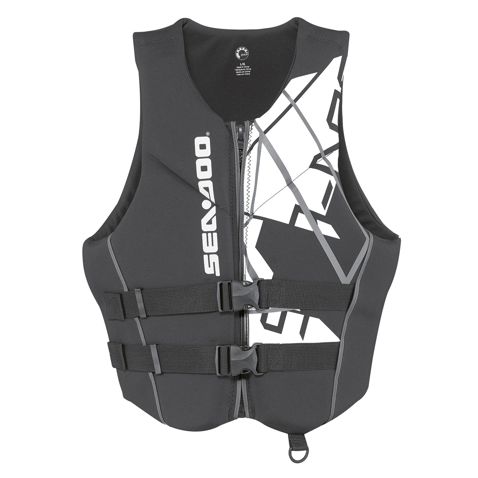 Sea-Doo Men's Freedom PFD - Black - Large by Sea-Doo