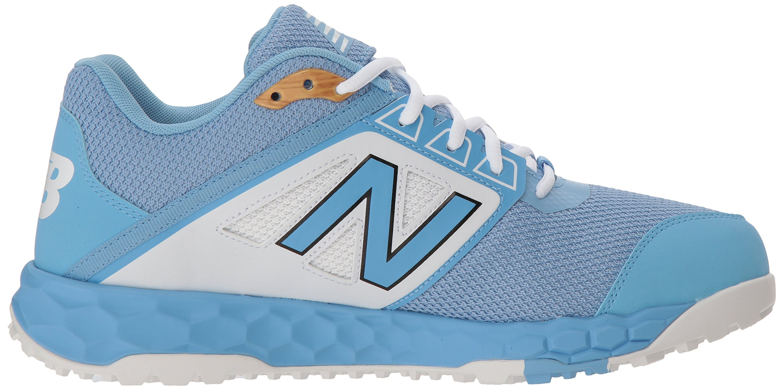 New Balance Men's 3000v4 Turf Baseball Shoe, Light Blue, 5 D US by New Balance (Image #6)