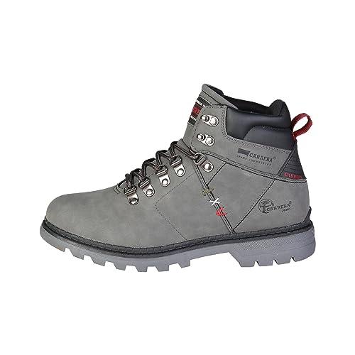 Carrera Jeans Hombre LATEMAR_CAM721010 Gris Botines Altos 43 EU: Amazon.es: Zapatos y complementos