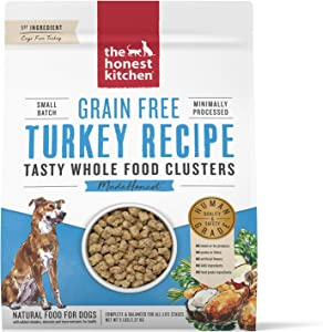 The Honest Kitchen Human Grade Grain Free Whole Food Clusters Dry Dog Food
