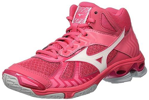 Mizuno Wave Bolt 7 Mid, Zapatillas para Mujer: Amazon.es: Zapatos y complementos