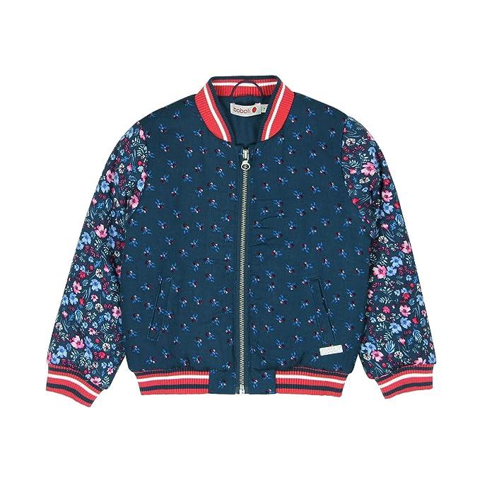 boboli Bomber Jacket For Girl, Abrigo para Niñas: Amazon.es: Ropa y accesorios
