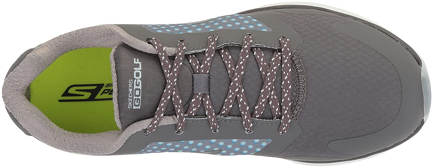Skechers Women's Go 8.5 Eagle Major Golf Shoe B074V9S321 8.5 Go B(M) US|Charcoal/Blue 6da810