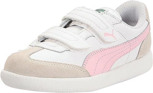 Puma Girls' Trainers White Size: 10.5
