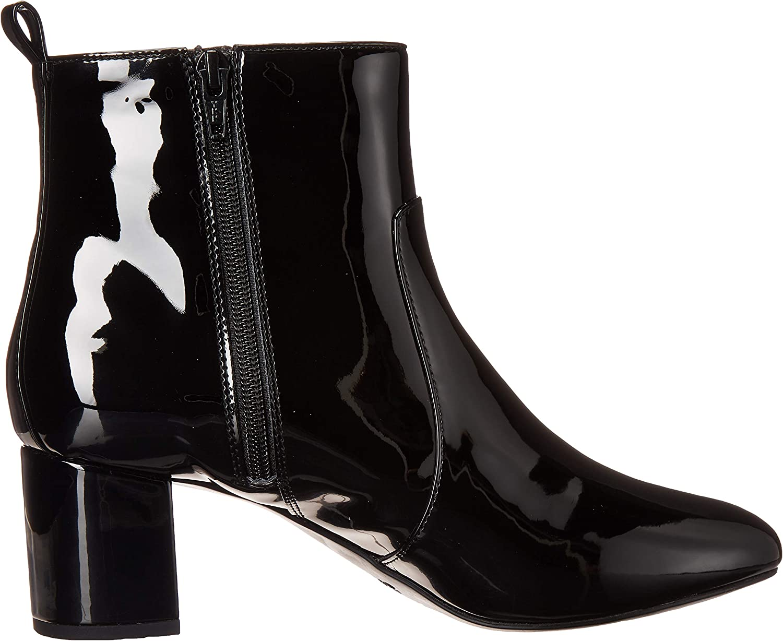 Aerosoles Women's Clayton Fashion Boot Black Patent