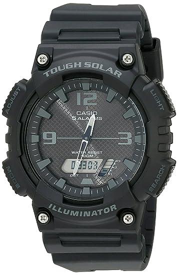 996018524ba Relógio Masculino Anadigi Casio AQ-S810W-1A2VDF - Preto  Amazon.com ...