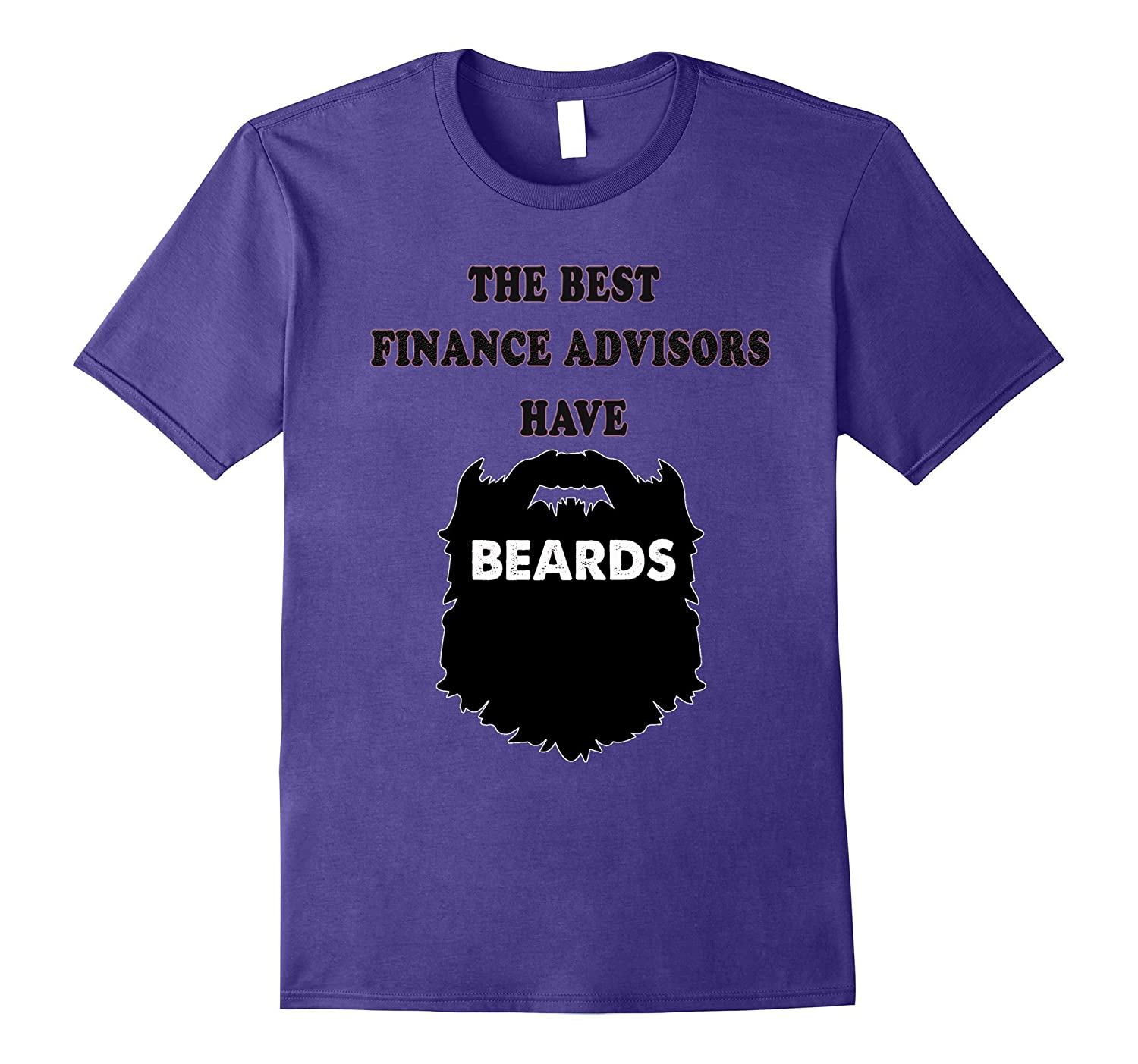 bearded Finance Adviser Tshirt bearded men gift tees shirt-PL