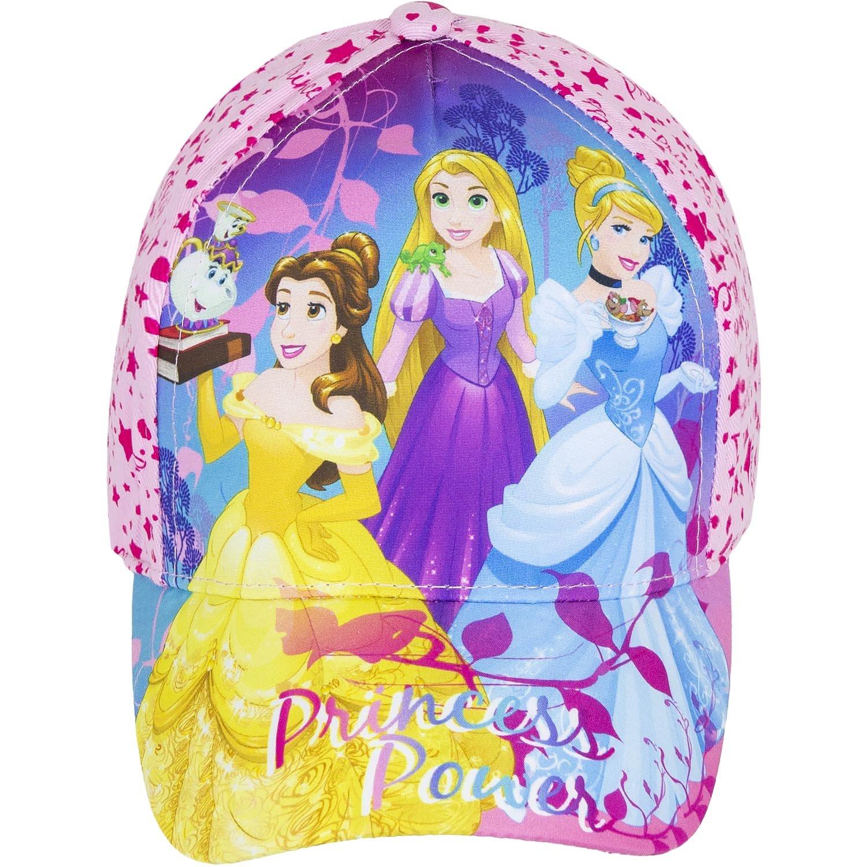 Disney Princess Official Girls Baseball Hats, Caps Summer Sun Hat 2-10 Years - New 2018
