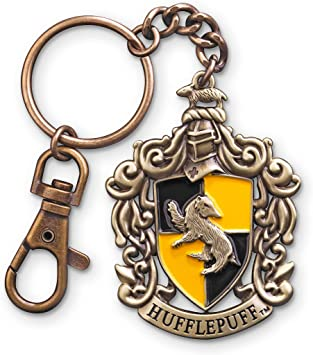 Gift Hogwarts House Pride Stocking Stuffer Harry Potter Hufflepuff Keychain