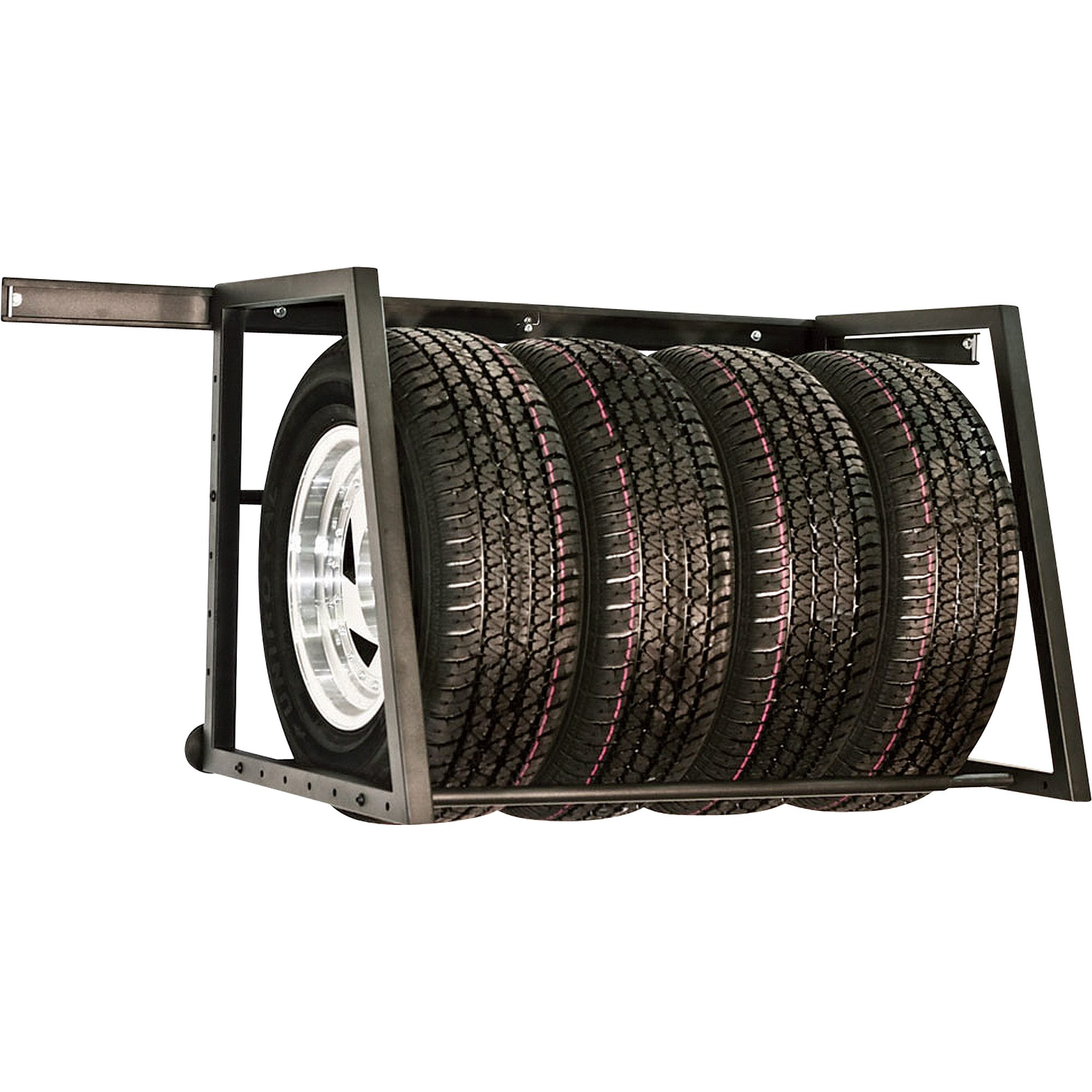 Phoenix Tire Storage Rack - 400-Lb. Capacity, Steel, Model# SPTSR
