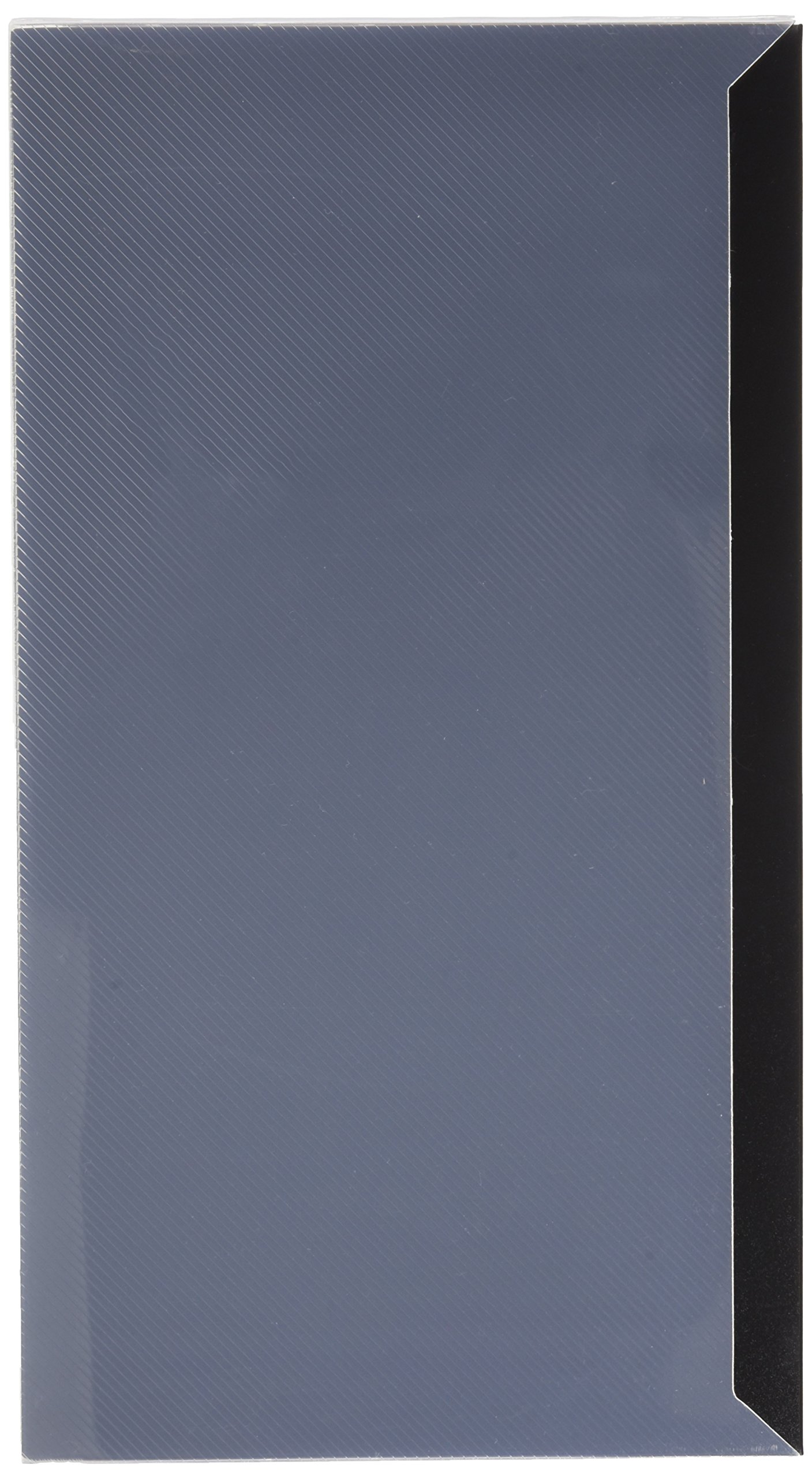 Pioneer Photo Albums CF-3 144-Pocket Poly Cover Space Saver Photo Album, Black