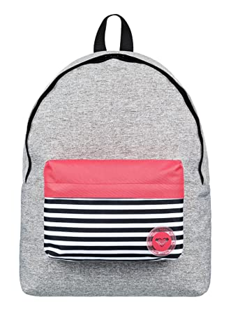 Roxy Sugar Baby Colorblock Mochila Escolar, 40 cm, Highrise Heather Gris: Roxy: Amazon.es: Deportes y aire libre