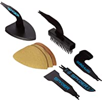 C & S Products 900404 Spyder Remodeling Kit, For Use With Reciprocating Saw, Wire Brush, Black