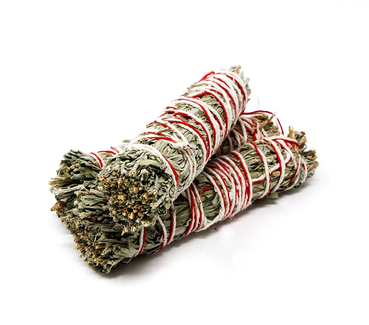 for Cleansing 4 Inches Saint Terra Pack of 3 Mountain Sage or Desert Mugwort Smudge Stick and New Energy. Strength