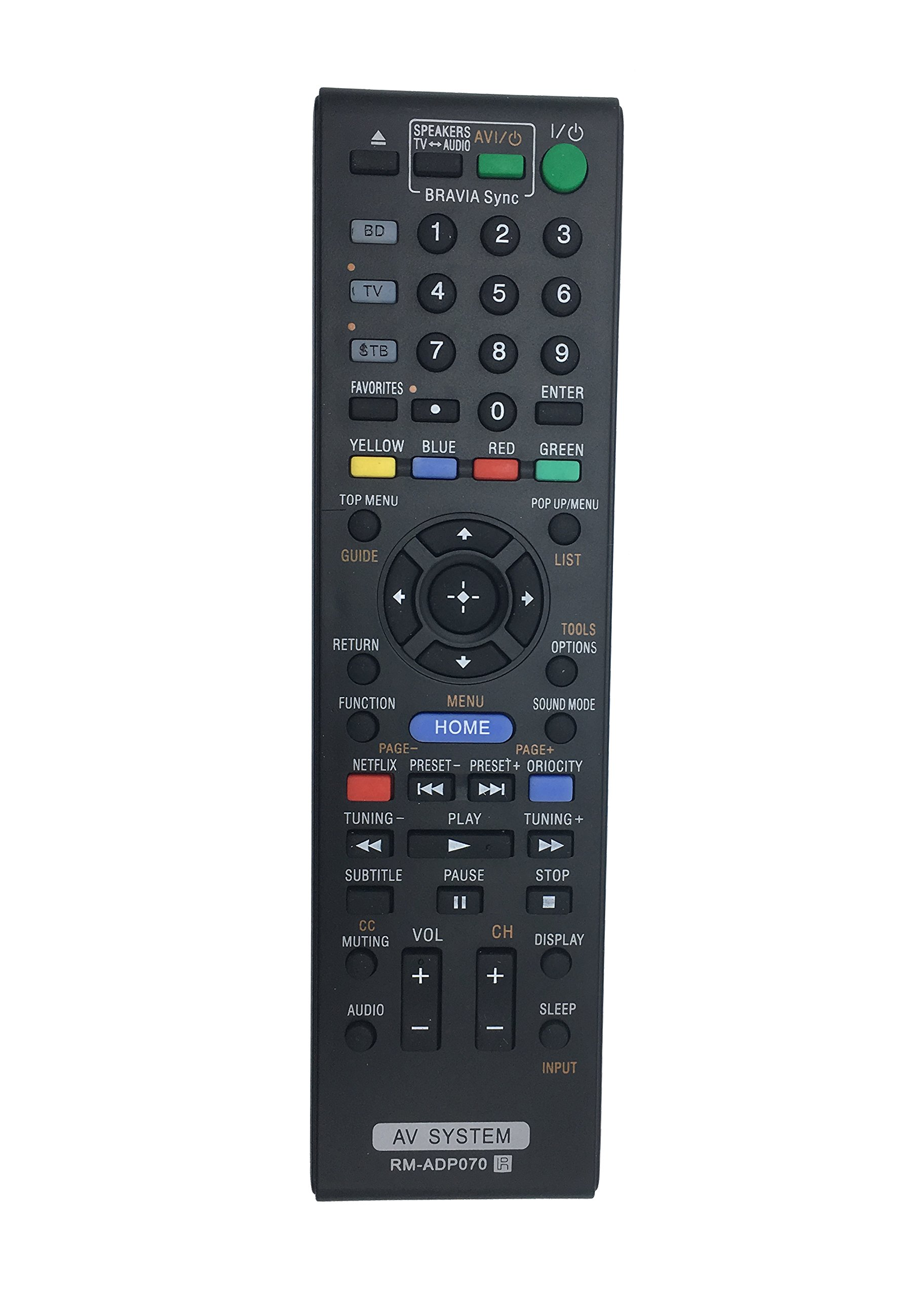 New RM-ADP070 Replaced Remote fit for Sony BDV-E780W RM-ADP059 HBD-E280 BDV-E980W HBD-E580 HBDE280 BDVE980W HBDE580 BDVE780W AV System Home Theater System