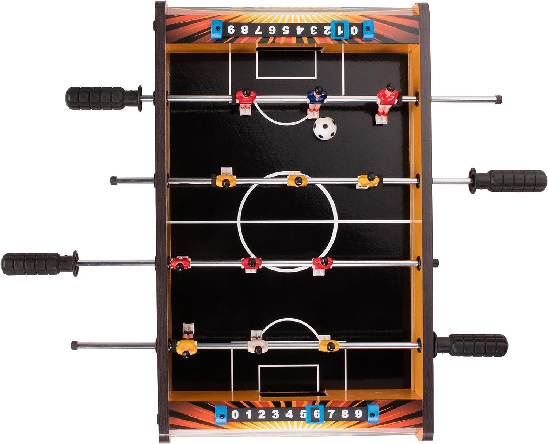Triumph Sports Lumen-X 20 Table Top Foosball Game