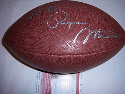 34cea191290 Roger Staubach Signed Football - Navy - JSA Certified - Autographed  Footballs