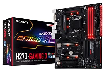 GIGABYTE GA-H270-Gaming 3 LGA1151 Intel 2-Way Crossfire ATX DDR4 Motherboard 5a20bb37ee5