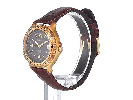 Thermidor Reloj Análogo clásico para Mujer de Cuarzo con Correa en Cuero 3MICRON: Amazon.es: Relojes
