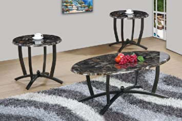 Clover U0026 Moss OT9002 Anderson Coffee Table Set Not Applicable, Dark Wood