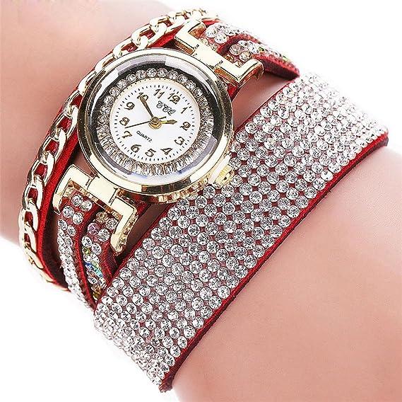 Para mujer pulsera relojes Cooki en venta aclaramiento Lady relojes mujeres relojes baratos Relojes para women