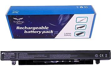 FengWings® A41-X550A 14.4V 2600mAh batería del portátil Compatible con ASUS X450CA X450EA X550CA X550CC X550LA X550LB X550LD X550JD X550JK X550LN ...