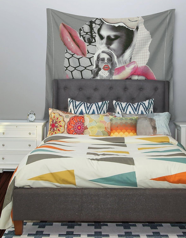 Kess InHouse Jina Ninjjaga Love Pop Art Wall Tapestry 68 X 80