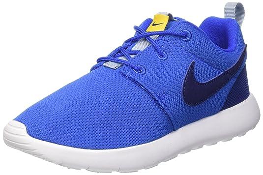 Nike 749427-417 - Chaussons, Noir/Bleu (hypr CBLT/DP ryl BL-VRSTY MZ-b), Taille 28 1/2