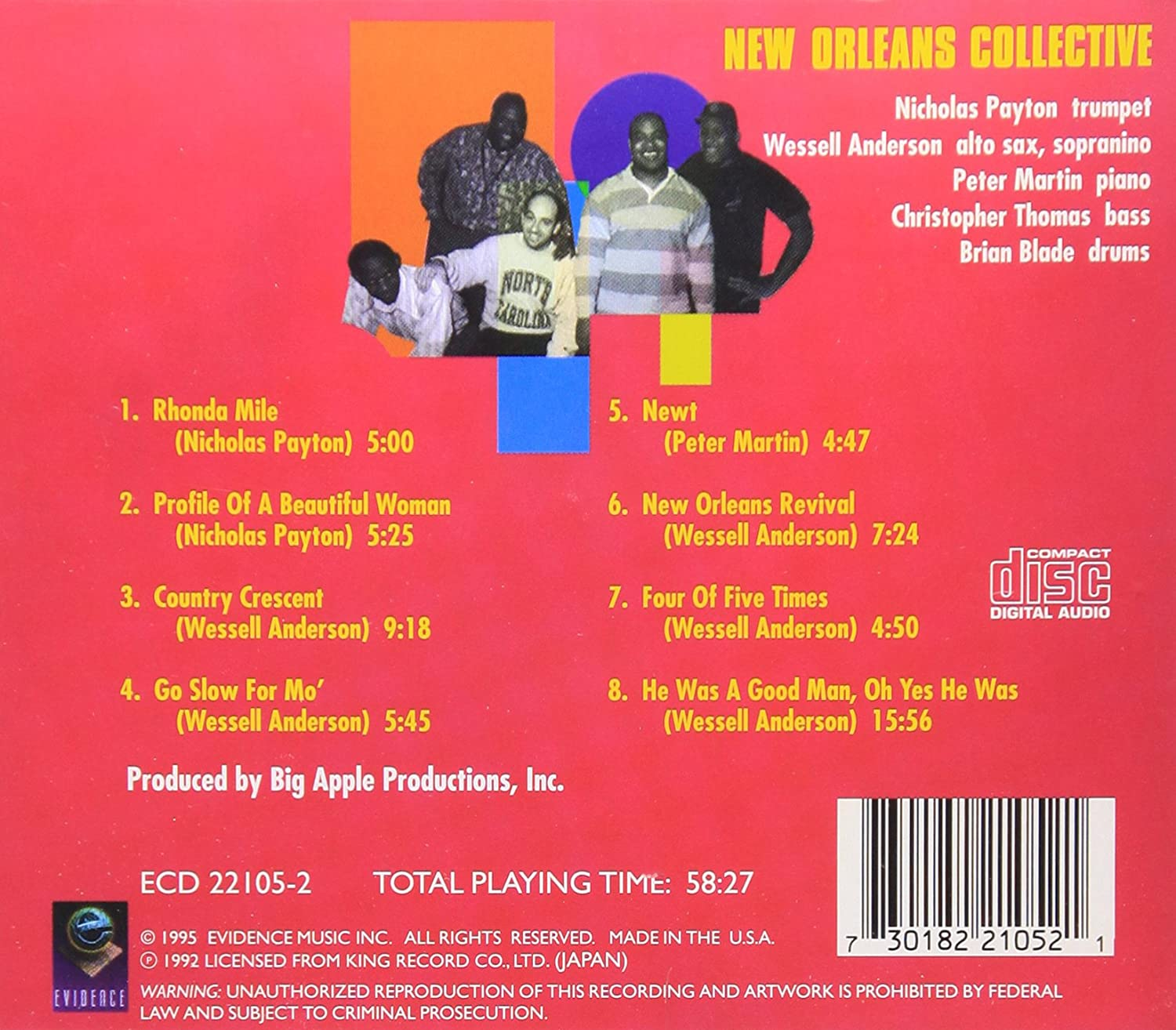 nicholas wessell anderson payton new orleans collective nicholas wessell anderson payton new orleans collective com music