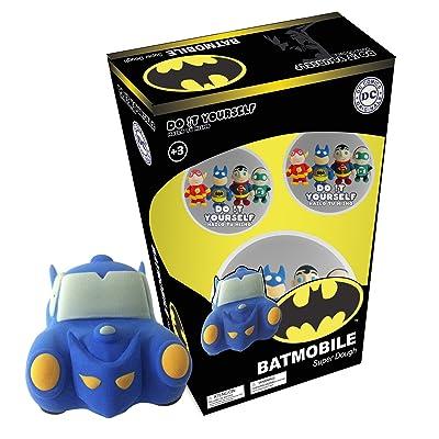 Batman Batmobile Super Dough Do It Yourself Modeling Set: Toys & Games