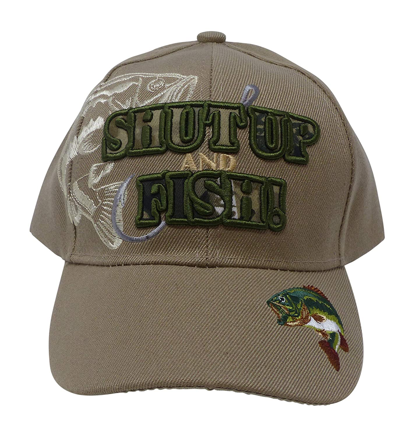 Military Glory Outdoor Fishing Hat – Funny Fishing Gift for Men