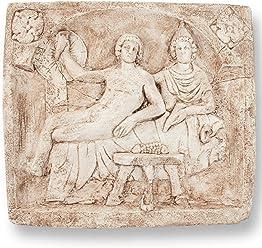 Arch/äologische Museum Replik Forum Traiani Relief R/ömische Pachtzahlung antike r/ömische Wanddeko Das antike Rom