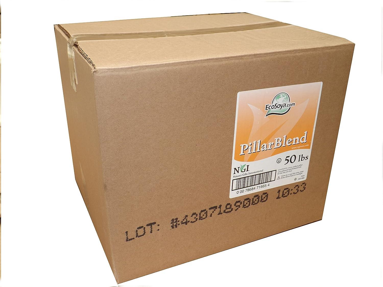 22.68 kg (kg) Pilar pilar Eco soja en copos de soja cera por NGI para hacer velas con libre de entrega: Amazon.es: Hogar