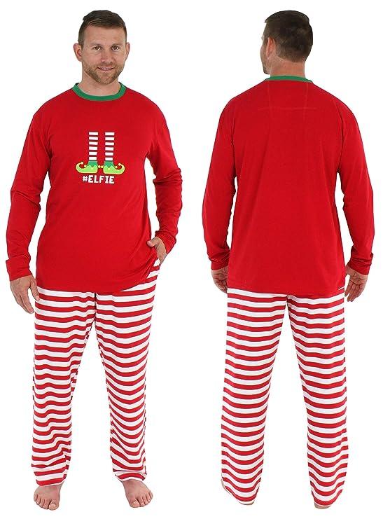 be572b7965 Amazon.com: Sleepyheads Christmas Family Matching Red Striped Elf Pajama PJ  Sets: Clothing