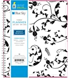 """Blue Sky 2018 Monthly Planner, Twin-Wire Binding, 8"""" x 10"""", Analeis"""