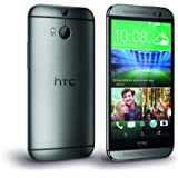 HTC One M8S Smartphone (12,7 cm (5 Zoll) Display, 16GB interner Speicher, Android 5.0 OS) Glazial Silber