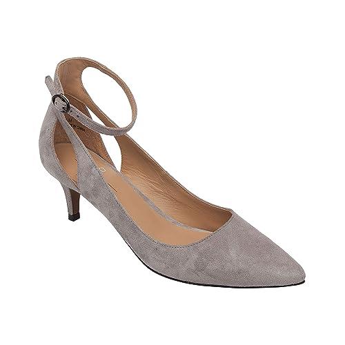 29a184b83b3 Amazon.com | Linea Paolo | Carrie | Kitten Heel Pointy Toe Ankle ...