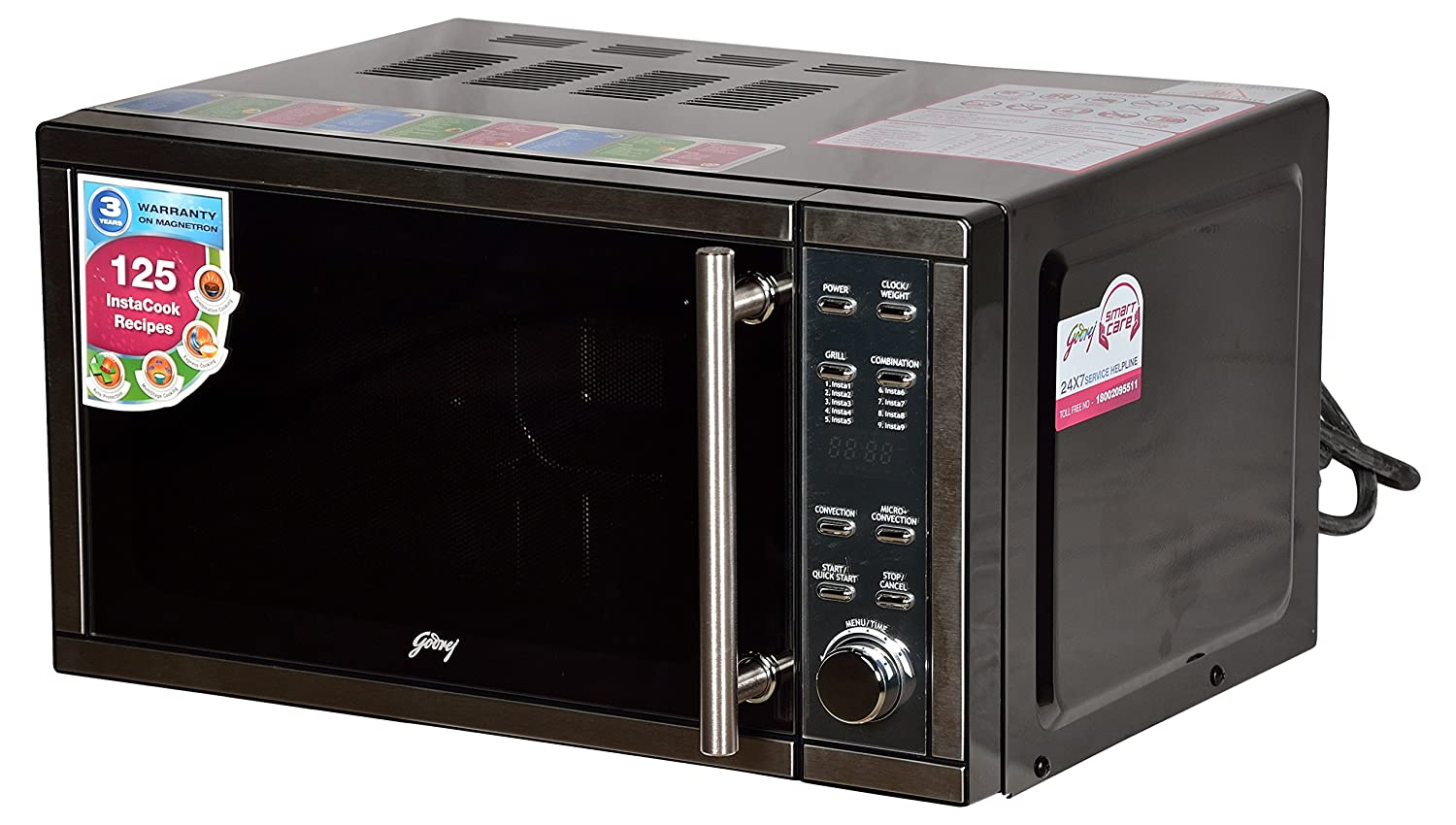 Godrej 20 L Convection Microwave Oven (GMX20CA3MKZ, Silver): Amazon.in:  Home & Kitchen