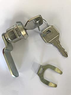 L/&F 22mm Mastered Camlock for Link Lockers each with 2 keys