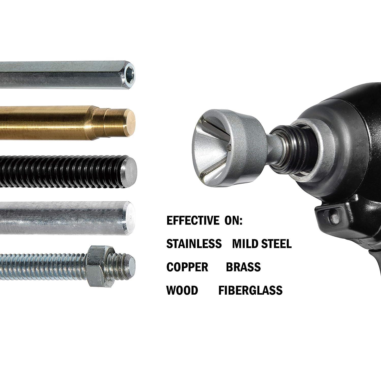 15mm-35mm ORXPLUS TOOLS Deburring External Chamfer Tool Deburring Drill Bit Remove Burr Tools for Fit 1//2-3//8