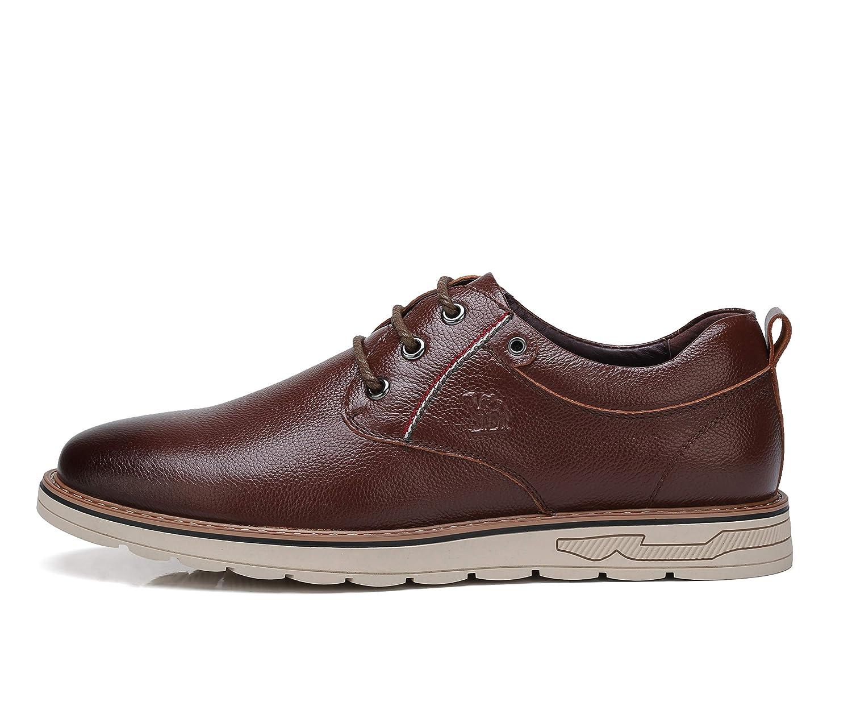 Amazon Com Camel Crown Mens Oxfords Shoes Suede Leather Lace Up