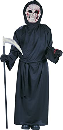 Halloween Costume Boy/'s Bleeding Grim Reaper Medium or Large