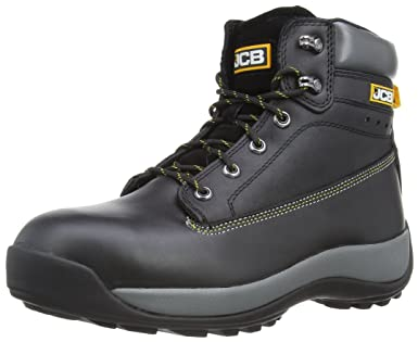 b57935ab53c JCB Mens 5CX Safety Shoes 5CX/B Black 6 UK, 39 EU Regular - EN safety  certified