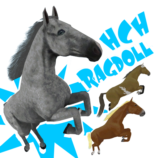 Hill Cliff Horse Ragdoll Physics product image